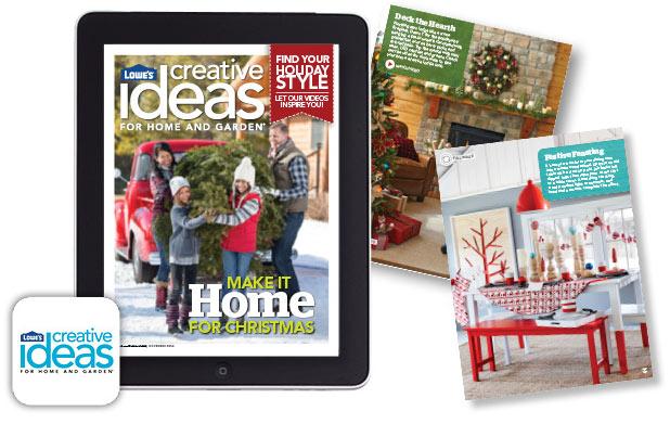 Lowe's Creative Ideas Campaign Photo